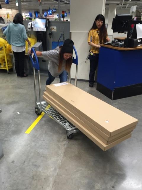 IKEA!お楽しみに!