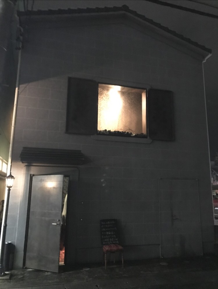 看板のない居酒屋