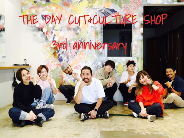 THE DAY CUT&CULTURE SHOPの進化。って話